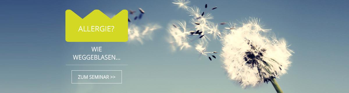 Allergie - wie weggeblasen